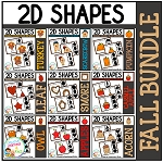 Shape Clip Card Bundle: Fall ~Digital Download~