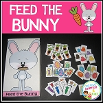 Feed the Bunny Activity ~Digital Download~