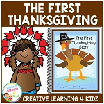 The First Thanksgiving Story Book