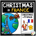 Christmas Around the World: France Book ~Digital Download~