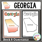 State Book Georgia ~Digital Download~