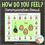 How Do You Feel Communication Board ~Digital Download~