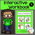 Interactive Workbook 4 ~Digital Download~