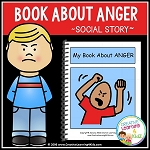 Social Story My Book About Anger ~Digital Download~