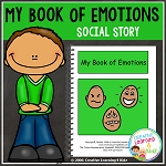 Social Story My Book of Emotions ~Digital Download~