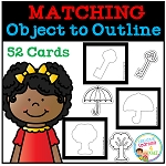Matching Object to Outline ~Digital Download~