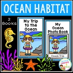Ocean Habitat Books ~Digital Download~