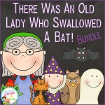 There Was an Old Lady Who Swallowed a Bat! Bundle ~Digital Download~
