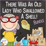 There Was An Old Lady Who Swallowed A Shell! Bundle ~Digital Download~