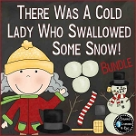 There Was a Cold Lady Who Swallowed Some Snow! Bundle ~Digital Download~