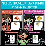 Picture Question Inference Card Bundle ~Digital Download~