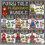 Playdough Mats & Visual Cards: Fairy Tale Bundle ~Digital Download~