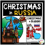Christmas Around the World:Russia Book ~Digital Download~