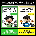Cut & Paste Sequencing Workbook Bundle ~Digital Download~