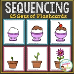 Sequencing Flashcards ~Digital Download~