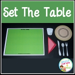 Set the Table Activity ~Digital Download~