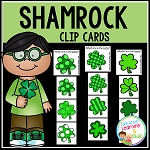 Shamrock Clip Cards St. Patrick's Day ~Digital Download~