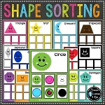 Shape Sorting Mats Identical & Non-Identical Bundle ~Digital Download~