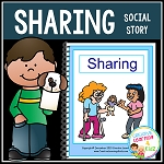 Social Story Sharing Book ~Digital Download~