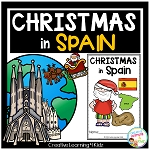 Christmas Around the World:Spain Book ~Digital Download~