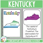 State Book Kentucky ~Digital Download~