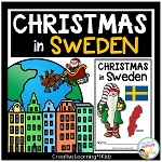 Christmas Around the World:Sweden Book ~Digital Download~