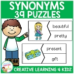 Synonyms Puzzles~Digital Download~