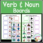 Verb & Noun Boards ~Digital Download~