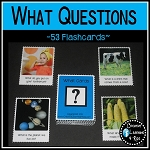 What Question Cards ~Digital Download~
