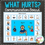 What Hurts Communication Board ~Digital Download~