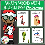 What's Wrong With This Picture Cards: Christmas ~Digital Download~