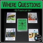 Where Question Cards ~Digital Download~