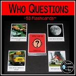 Who Question Cards ~Digital Download~