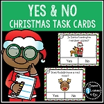 Christmas Yes & No Question Task Cards ~Digital Download~