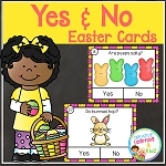 Easter Yes & No Question Task Cards ~Digital Download~