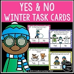 Winter Yes & No Question Task Cards ~Digital Download~