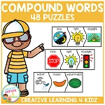 Compound Word Puzzles ~Digital Download~