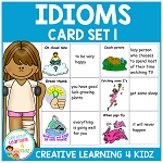 Idiom Cards Set 1 ~Digital Download~