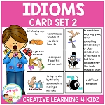 Idiom Cards Set 2 ~Digital Download~