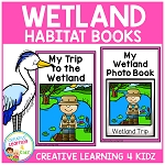 Wetland Habitat Books ~Digital Download~