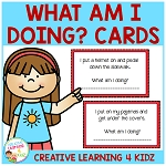 Inference What Am I Doing? Cards ~Digital Download~