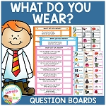 What Do You Wear? Boards ~Digital Download~