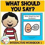 What Should You Say? Workbook 1 ~Digital Download~