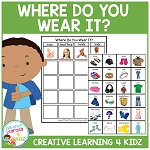 Where Do You Wear It? Board ~Digital Download~