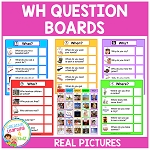 WH Question Boards ~Digital Download~