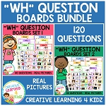 WH Question Board Bundle ~Digital Download~