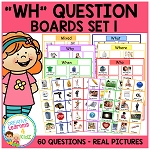 WH Question Boards Set 1 ~Digital Download~