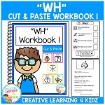 Cut & Paste WH Workbook 1 ~Digital Download~