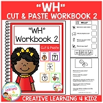 Cut & Paste WH Workbook 2 ~Digital Download~