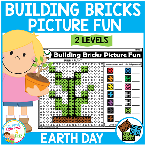 Building Bricks Picture Fun: Earth Day ~Digital Download~